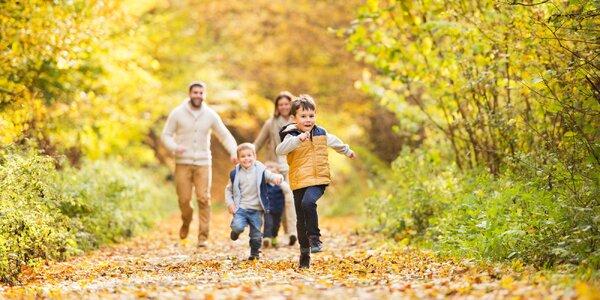 Tři venkovní stopovací hry pro celou rodinu