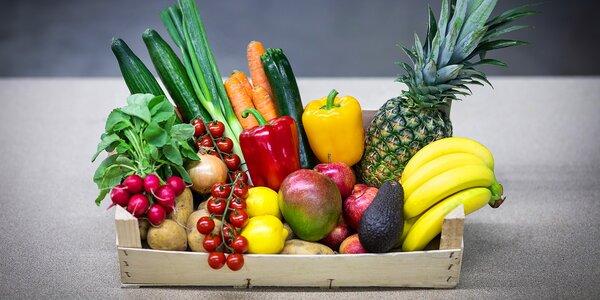 Bedýnky plné ovoce a zeleniny s doručením až domů
