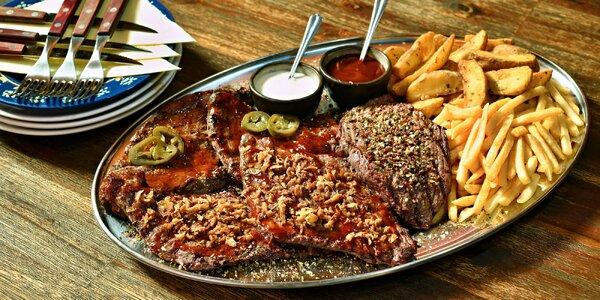 Argentinský hovězí steak na 3 způsoby a přílohy