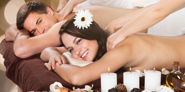 Zdravotní, hloubková či relaxační masáž pro dva