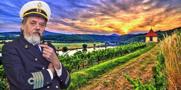 Plavba po Labi: oběd, grilování a degustace 10 vín