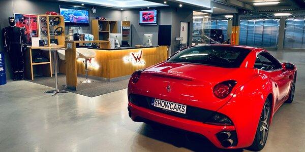 Prohlídka garáže Showcars plné nabušených vozů