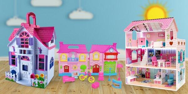 Vybavení do dětské kuchyňky i domečky pro panenky