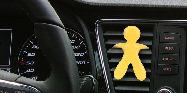 3D vůně do auta: aroma máty, levandule i citrusů