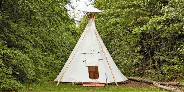 Pobyt v indiánském teepee pro milovníky výletů
