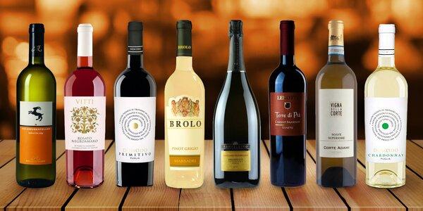 Vína z Itálie a Německa: Primitivo, Riesling aj.