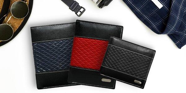 Pánské peněženky z pravé kůže - 18 modelů