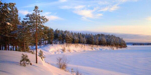 Zima či jaro na břehu Lipna s polopenzí