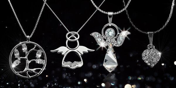 Elegantní dámské šperky Swarovski Components