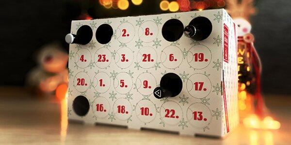 Vánoční pivní box: 24 piv z minipivovarů