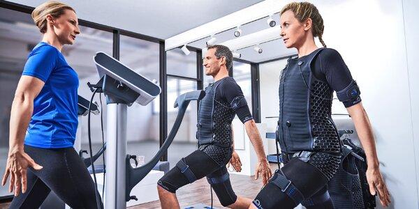 Cvičení pomocí EMS technologie: 20 minut tréninku