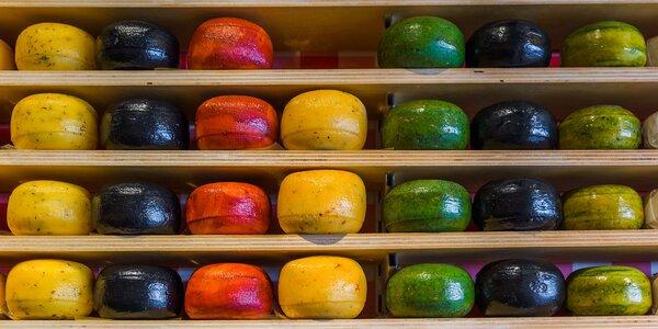 Dárek k nakousnutí: 380 g různých druhů goudy