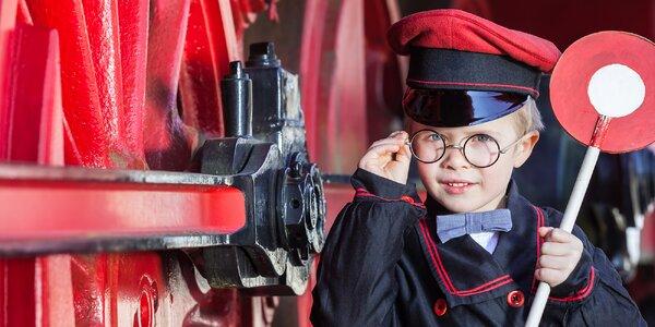 Vlaková loupež: úniková hra pro 2–5 dětí