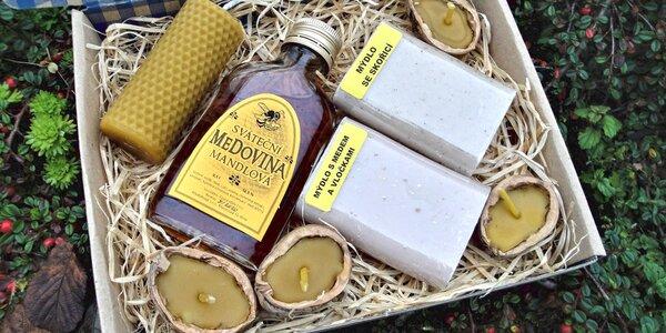 Včelařovo potěšení: medovina, svíčky i mýdla