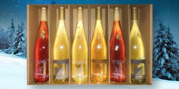 Set 6 vín z vinařství Marcus: perlivá i pozdní sběr