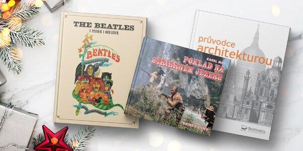 Knihy Vinnetou, Beatles a Průvodce architekturou
