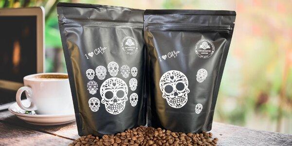 Ekologicky pěstovaná káva Los Muertos a plecháček
