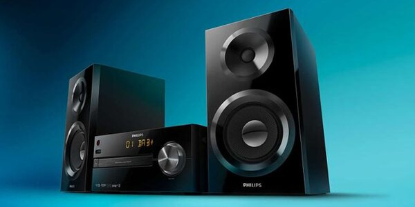 Audiosystém Philips s CD, USB i Bluetooth