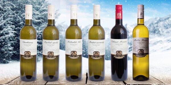6 výběrových vín z Moravy: Ryzlink, Muškát i Müller