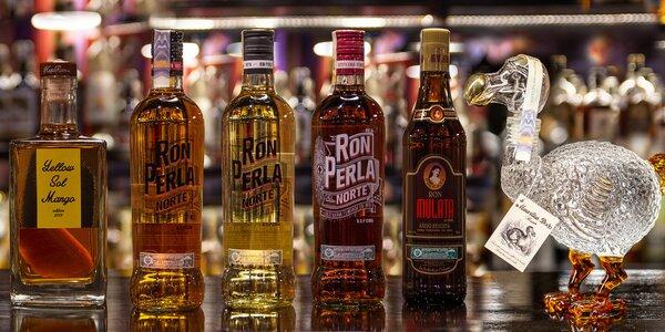 Rumy z Kuby i exkluzivní lahve z Karibiku a Mauricia