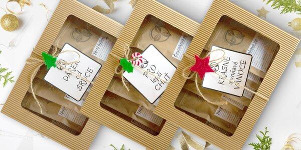 Tři dárkové krabice fermentovaného koření Lussk
