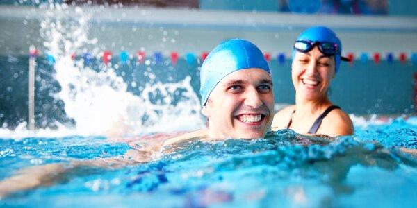 Lekce plavání pro jednotlivce i skupinu: až 10 hodin