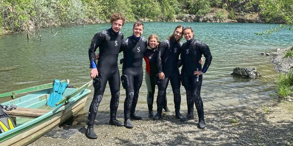 Kurz potápění OWD: ponory v bazénu i volné vodě