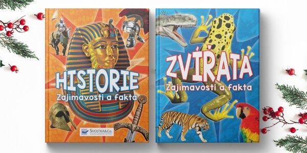 Encyklopedie historie či zvířat pro zvídavé děti