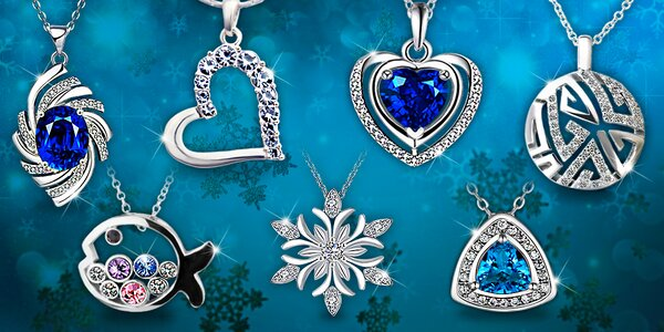 Šperky s krystaly Swarovski a zirkony