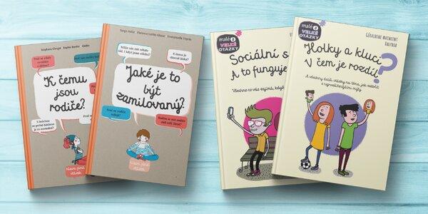 Knihy od Svojtky: otázky a odpovědi pro děti 8+