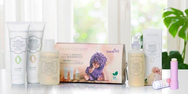 Bio kosmetika Anne Geddes pro maminky a miminka