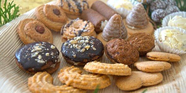 Zdravější varianta cukroví vč. bezlepkového: až 1 kg