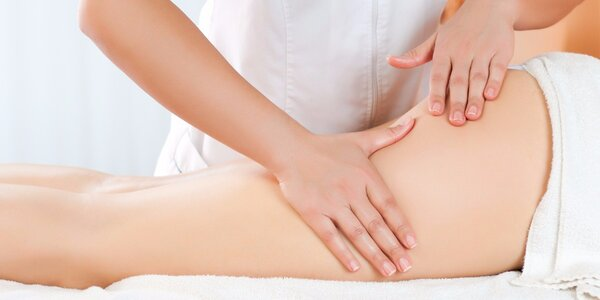 Ruční lymfatická masáž nohou nebo celého těla