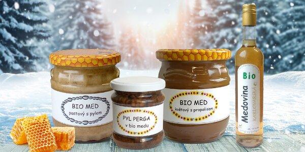 Raw bio medy, pyl i medovina od českého včelaře