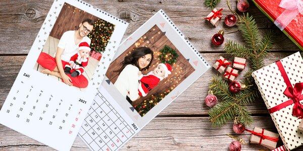 Nástěnný měsíční fotokalendář XL