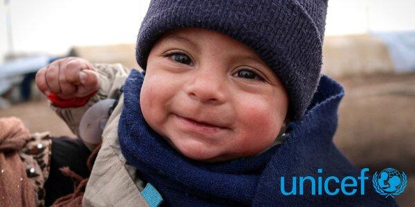 Vánoce s UNICEF: darujte život, zdraví a naději