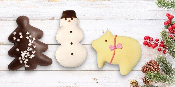 Mikulášské a vánoční perníky s ovocnou náplní