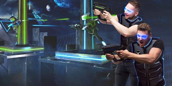 Virtuální realita: paintball pro 4 až 6 hráčů