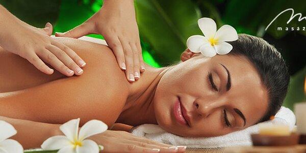 Breussova masáž zad a šíje nebo relaxační rekondiční masáž