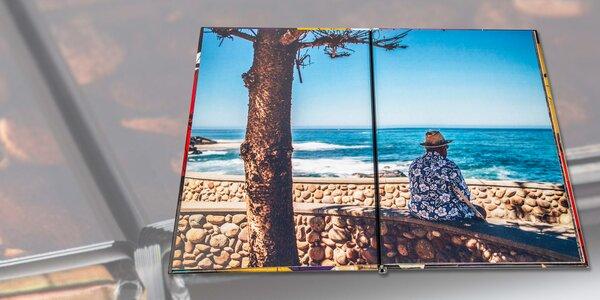 Fotokniha formátu A4: pevná vazba, na výšku i šířku