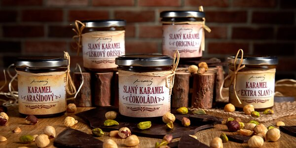 Pravý český karamel: slaný, arašídový i čokoládový