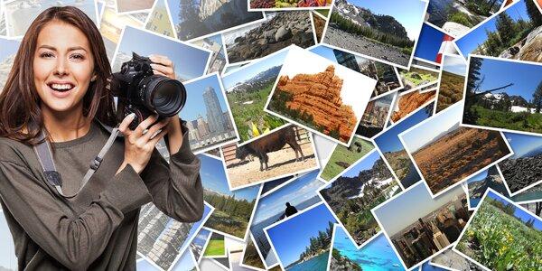 Vyvolání 49–100 fotografií: 6 rozměrů, lesk či mat
