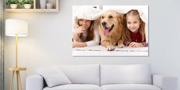 Fotoobraz na plátně Klasik nebo Premium: 4 rozměry
