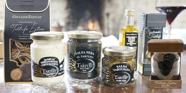 Speciality z pravých lanýžů: pasta, máslo i olej