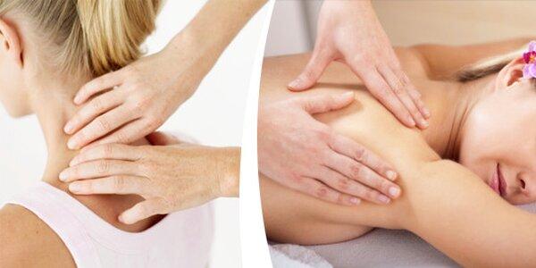 Terapeutická hloubková masáž s ošetřením spoušťových bodů-trigger points