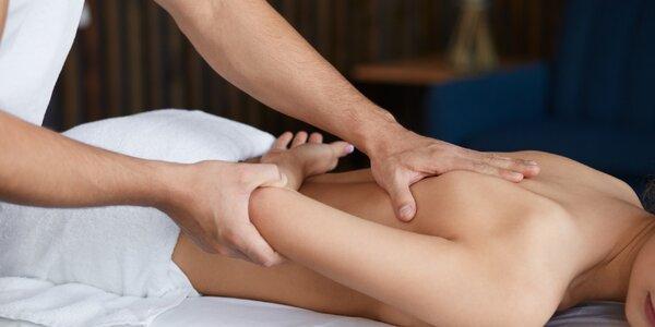 45–90min. masáž podle výběru: zdravotní i klasická