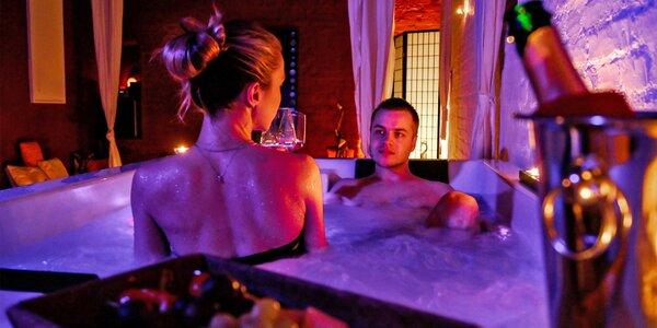 120–240 min. i noc v privátním wellnes, masáž, víno