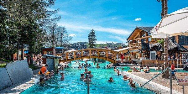 Vstup do termálního aquaparku v jižním Polsku