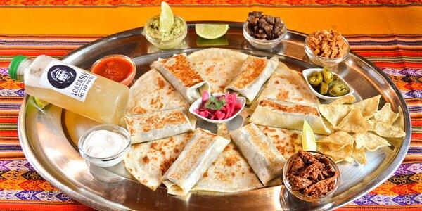 Jídlo s sebou: Mexické menu pro 2 osoby, vč. koktejlu