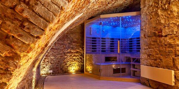 Privátní sauna, občerstvení a třeba i masáž pro 2